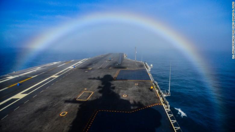 rainbow aircraft carrier