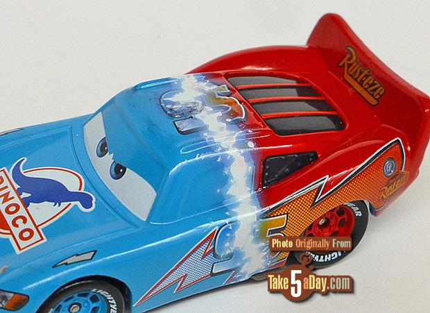 Rusteze-to-Dinoco-McQueen-3-4-front-detail