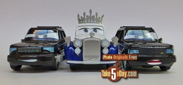 MIKE LORENGINE Mattel Disney Pixar CARS 2
