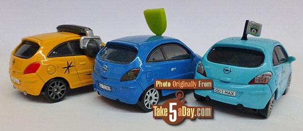 3-Opel-Corsas-Petro-Cartilina-Bob-Moter-Alloy-Hemberger-3-4-rear