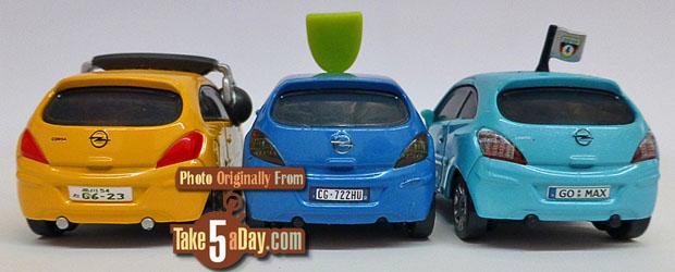3-Opel-Corsas-Petro-Cartilina-Bob-Moter-Alloy-Hemberger-rear