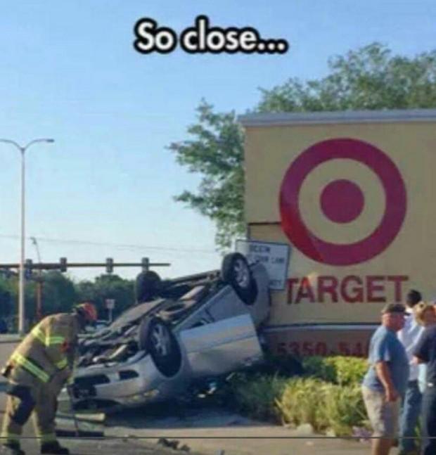 so close target