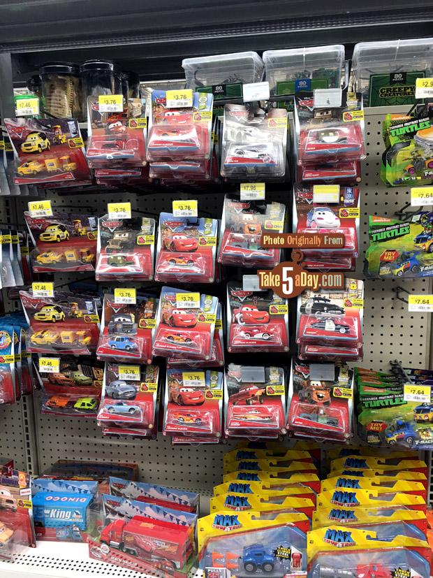 Toy Cars At Walmart : Take five a day archive mattel disney pixar cars