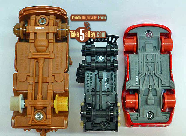 Mater-with-No-Tires-Galloping-Geargrinder-&-Lightning-McQueen-with-No-Tires-chassis
