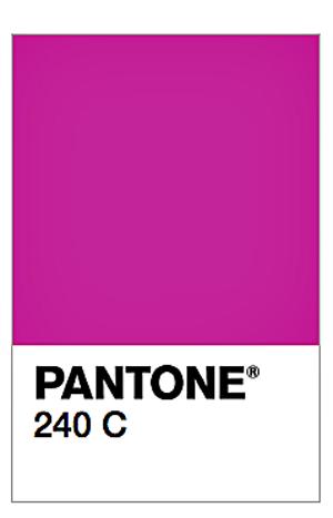 pantone 240C