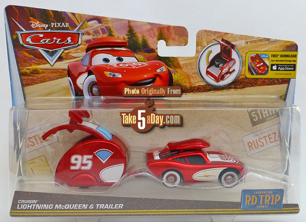 Crusin-Lightning-McQueen-&-Trailer-package-front