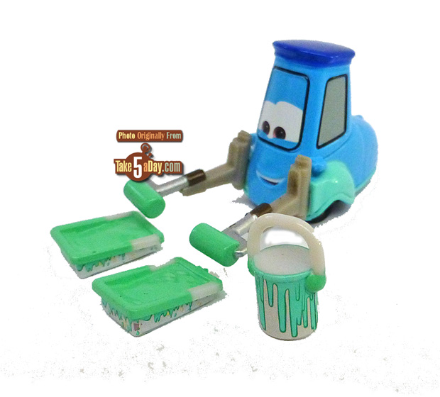 Radiator-Springs-Cleanup-5-pack-Cars_Guido-w-paint-supplies-3-4-front