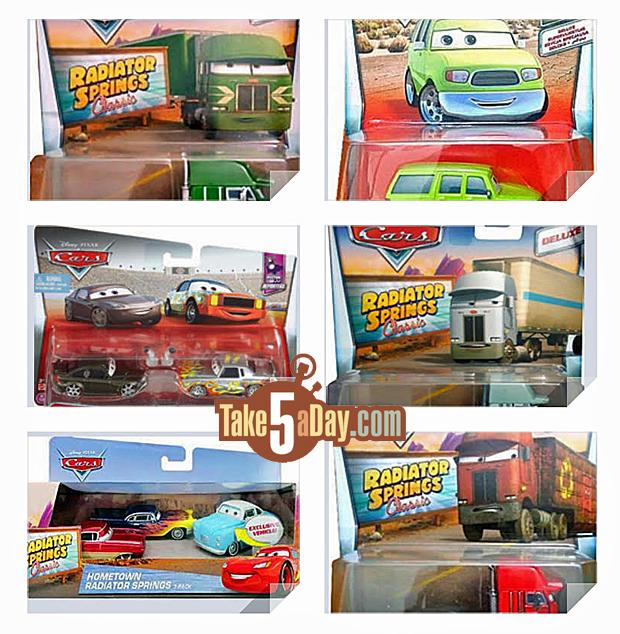 Take Five A Day Blog Archive Mattel Disney Pixar Cars Pre Cars