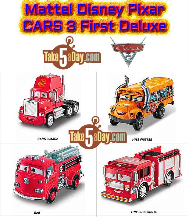Mattel Disney Pixar Cars 3 Deluxe Diecasts 2017 Take