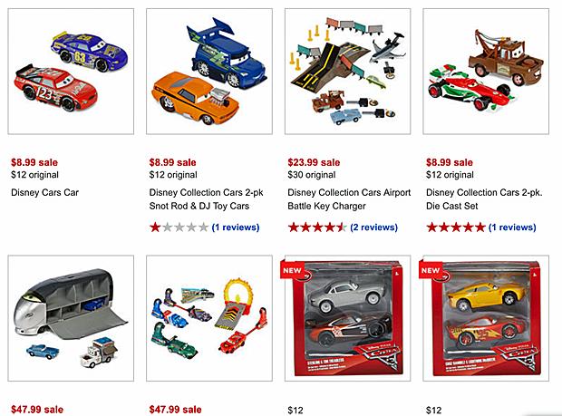 Take Five A Day Blog Archive Disney Pixar Cars 3 Disney Store