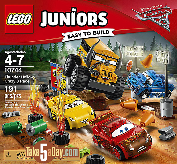 Take Five A Day Blog Archive Disney Pixar Cars 3 Lego Juniors Duplo S