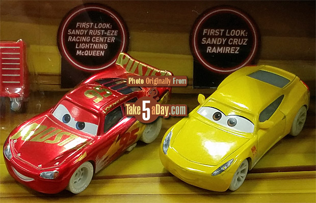 Take Five A Day Blog Archive Mattel Disney Pixar Cars 3 Box