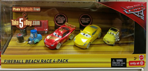 Disney Cars  Diecast Racing  Pack