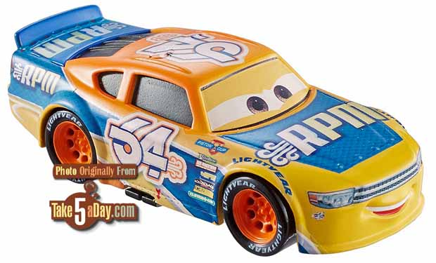 Take Five A Day Blog Archive Mattel Disney Pixar Cars 3 Amazon