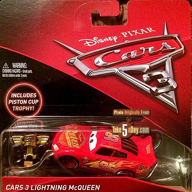 Take Five A Day Blog Archive Mattel Disney Pixar Cars 3 Toys R