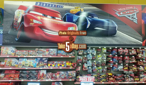 Take Five A Day Blog Archive Mattel Disney Pixar Cars 3 Toys R