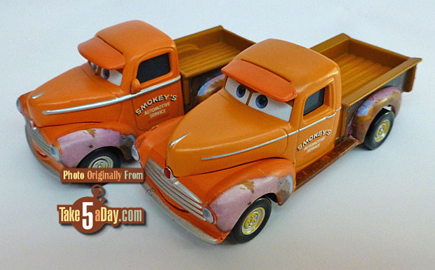 DISNEY PIXAR CARS 3 SMOKEY WITH LONG BED 2017