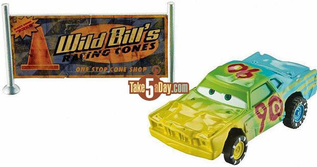 Take five a day blog archive mattel disney pixar cars 3 demo derby cars with accessories - Coloriage cars 3 thunder hollow ...