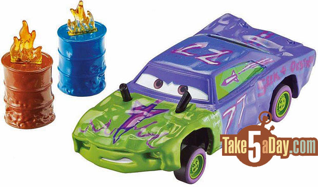 Take five a day blog archive mattel disney pixar cars 3 demo derby cars with accessories wm - Coloriage cars 3 thunder hollow ...