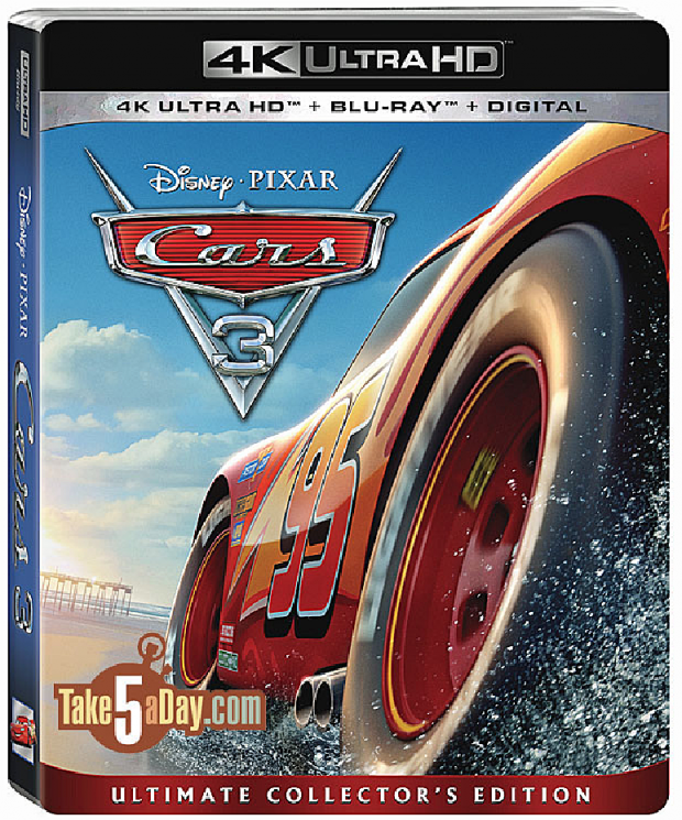 Take Five a Day » Blog Archive » Disney Pixar CARS 3: Blu
