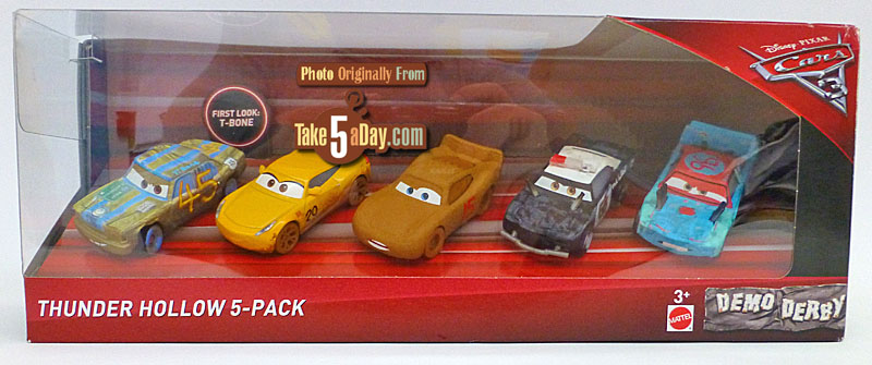Take five a day blog archive mattel disney pixar cars 3 holler for thunder hollow the box set - Coloriage cars 3 thunder hollow ...