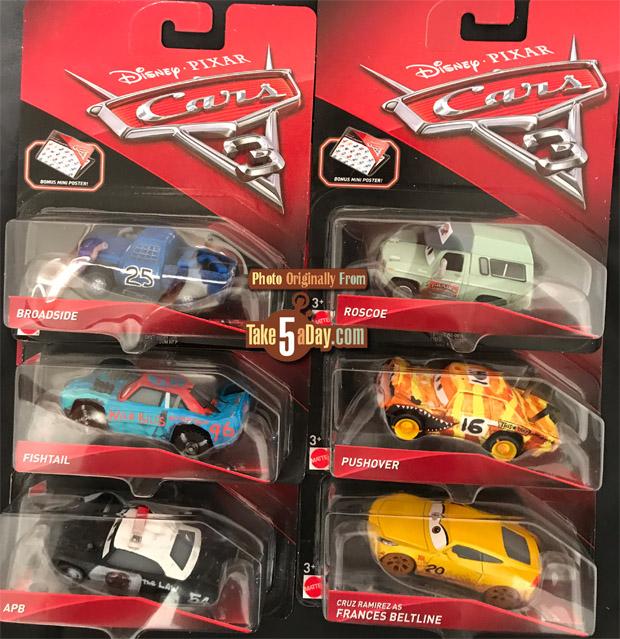Take Five A Day Blog Archive Mattel Disney Pixar Cars 3 The U