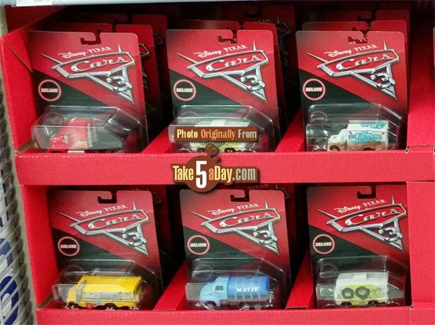 Take Five A Day Blog Archive Mattel Disney Pixar Cars 3 Walmart