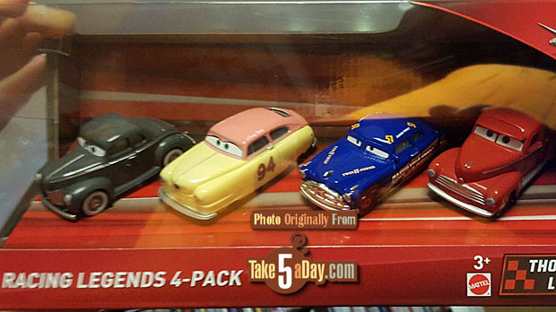 "Disney Pixar Cars /"" Hey Day Smokey  /"" Doc/'s Racing Days"