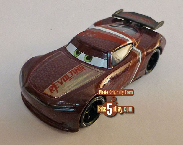 Image result for cars 3 aaron clocker take 5