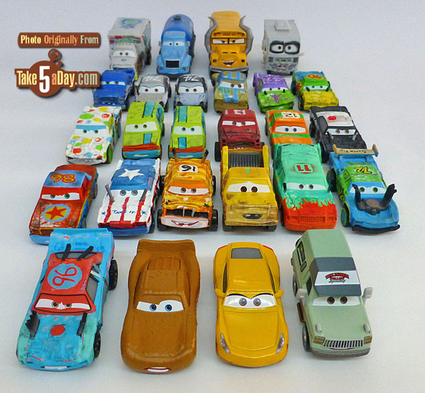 Mattel disney pixar cars 3 demo derby gathered take five a day - Coloriage cars 3 thunder hollow ...