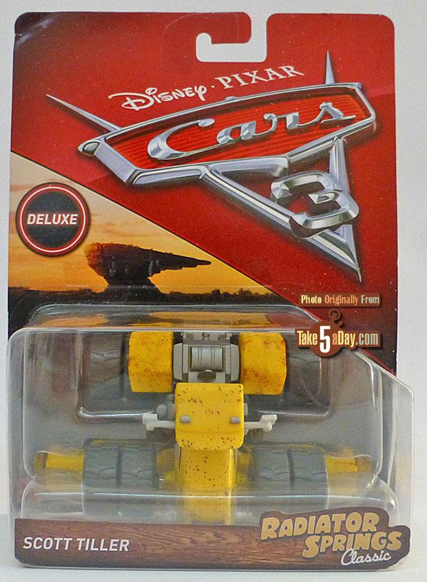Disney Pixar Cars 3 SCOTT TILLER Tractor Deluxe Radiator Springs