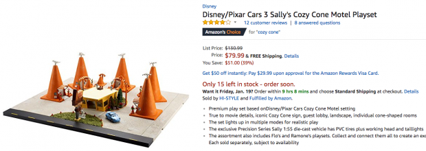 Mattel Disney Pixar Cars Precision Series Sally S Cozy Cone