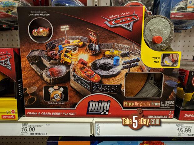 Mattel Disney Pixar Cars 3 Diecast Mini Racers Arrive At