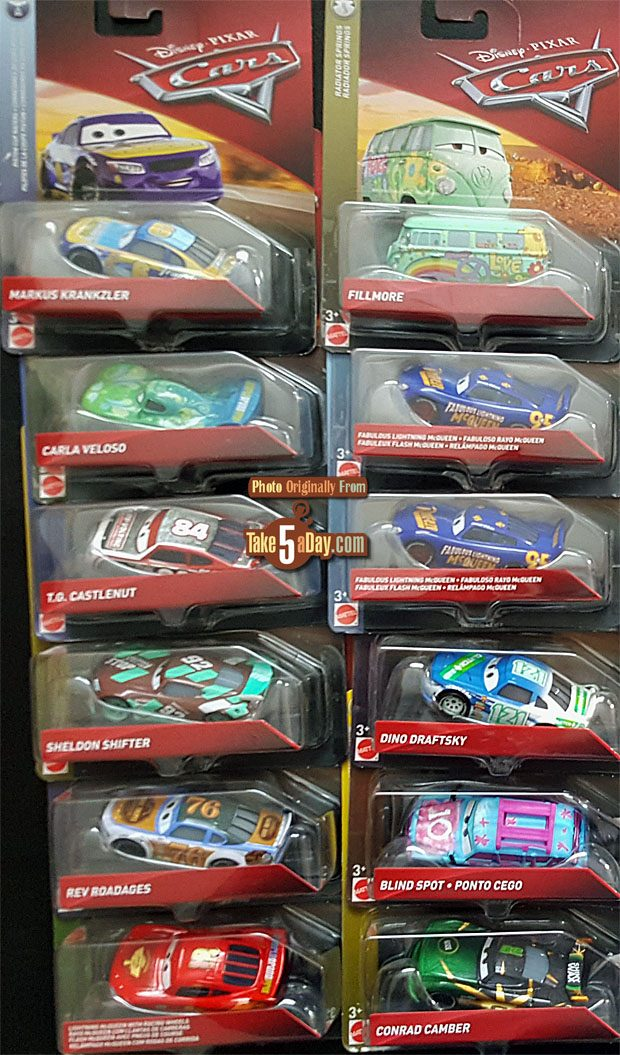Disney Pixar Cars  All Characters