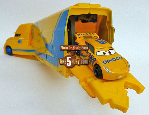 Take Five A Day 187 Blog Archive 187 Mattel Disney Pixar Cars 3 Cruz Ramirez S Hauler Playset