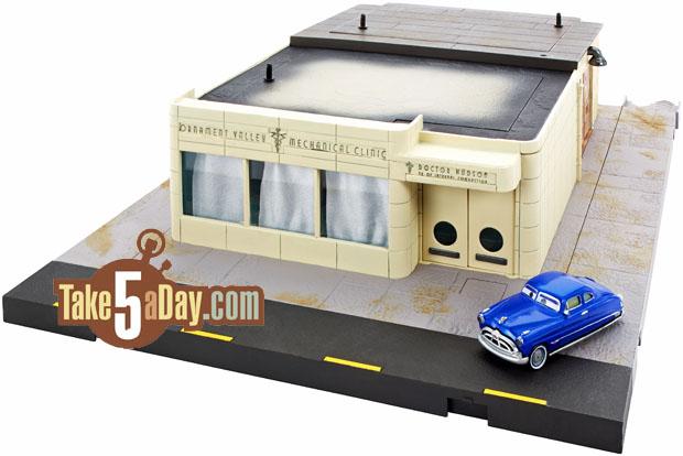 Mattel Disney Pixar Cars Precision Series Doc Hudson S