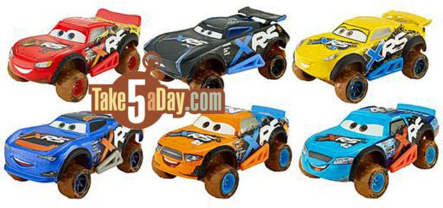 Take Five A Day Blog Archive Mattel Disney Pixar Cars 3 Xtreme
