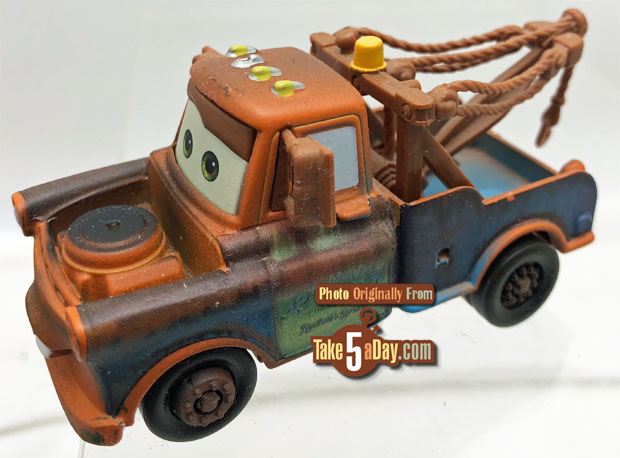 Mattel Disney Pixar CARS: 2018 Mater Variant Throwback That You Don't Want to Throw Back