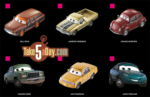 Take Five A Day Blog Archive Mattel Disney Pixar Cars 2018 2019