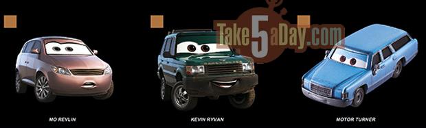 Take Five a Day » Blog Archive » Mattel Disney Pixar CARS ...