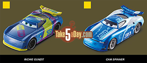 Take Five A Day Blog Archive Mattel Disney Pixar Cars 2018 2019 Poster Diecasts Revealed