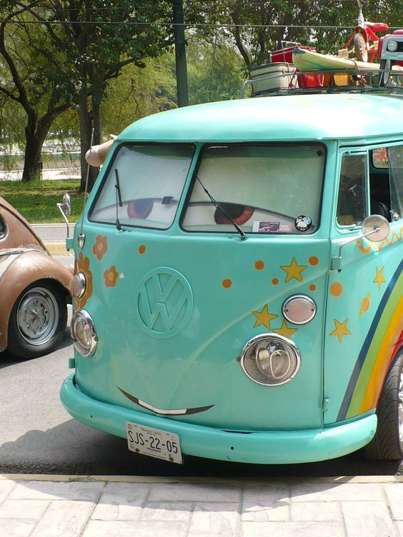 New VW Bus >> Take Five a Day » Blog Archive » Disney Pixar CARS: Cute Real Life CARS