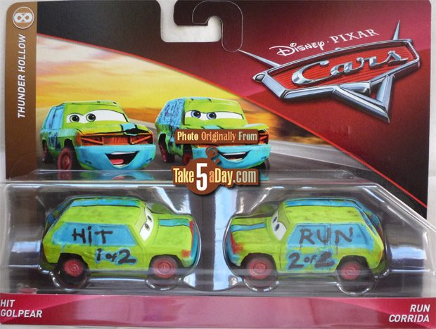 Take Five A Day Blog Archive Mattel Disney Pixar Cars 2 Packs