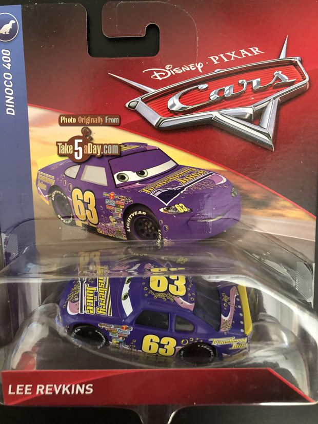Take Five A Day Blog Archive Mattel Disney Pixar Cars Lee