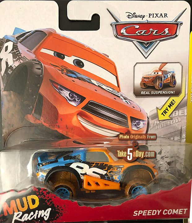 Take Five A Day Blog Archive Mattel Disney Pixar Cars Xrs Mud