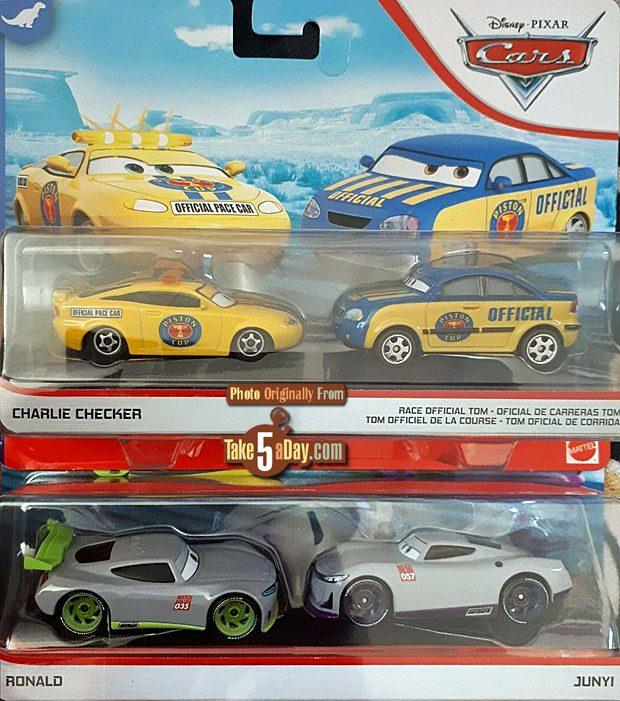 Take Five A Day Blog Archive Mattel Disney Pixar Cars 2020 New Cards Motif Preview