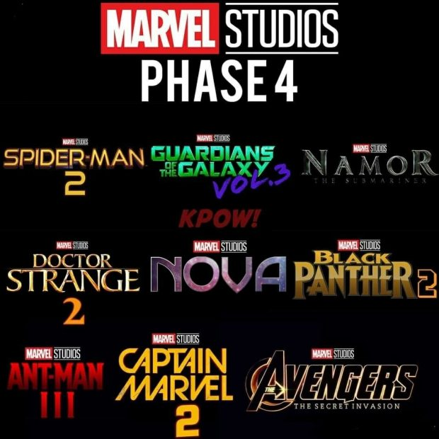 """Take Five a Day » Blog Archive » Marvel MCU Phase 4 """"Leaked"""
