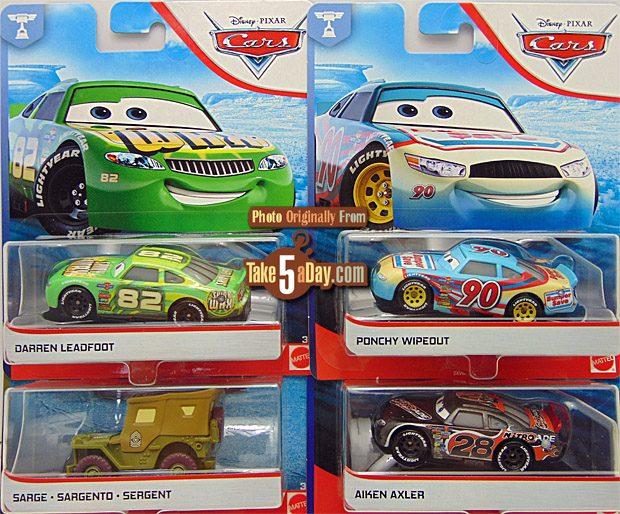 DISNEYPIXAR CARS 3 DARREN LEADFOOT