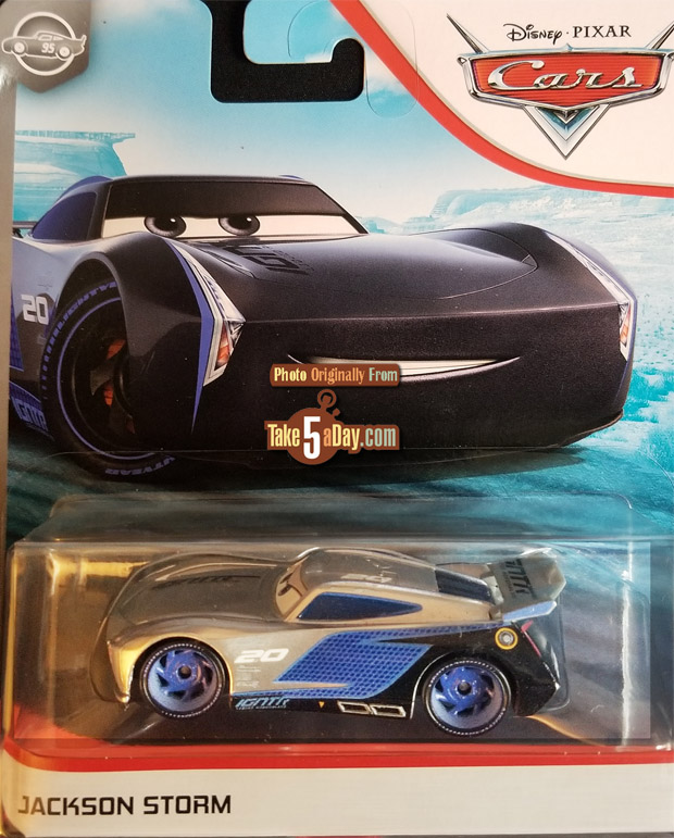Disney Pixar Cars Silver Jackson Storm Silver Collection 2020  New release