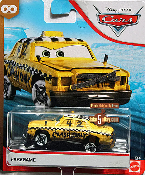 Take Five A Day Blog Archive Mattel Disney Pixar Cars Faregame First Look As Single